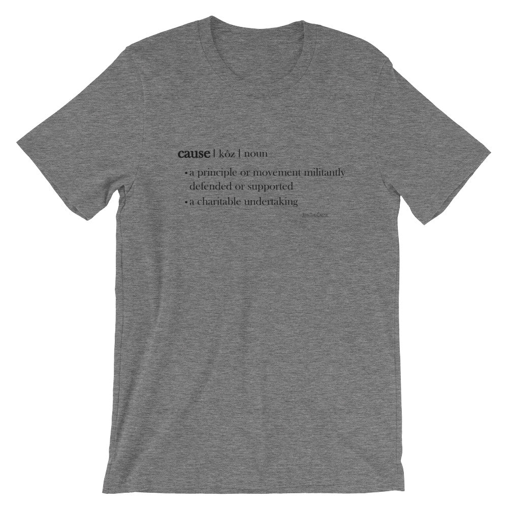 Cause Dictionary Entry - Tee