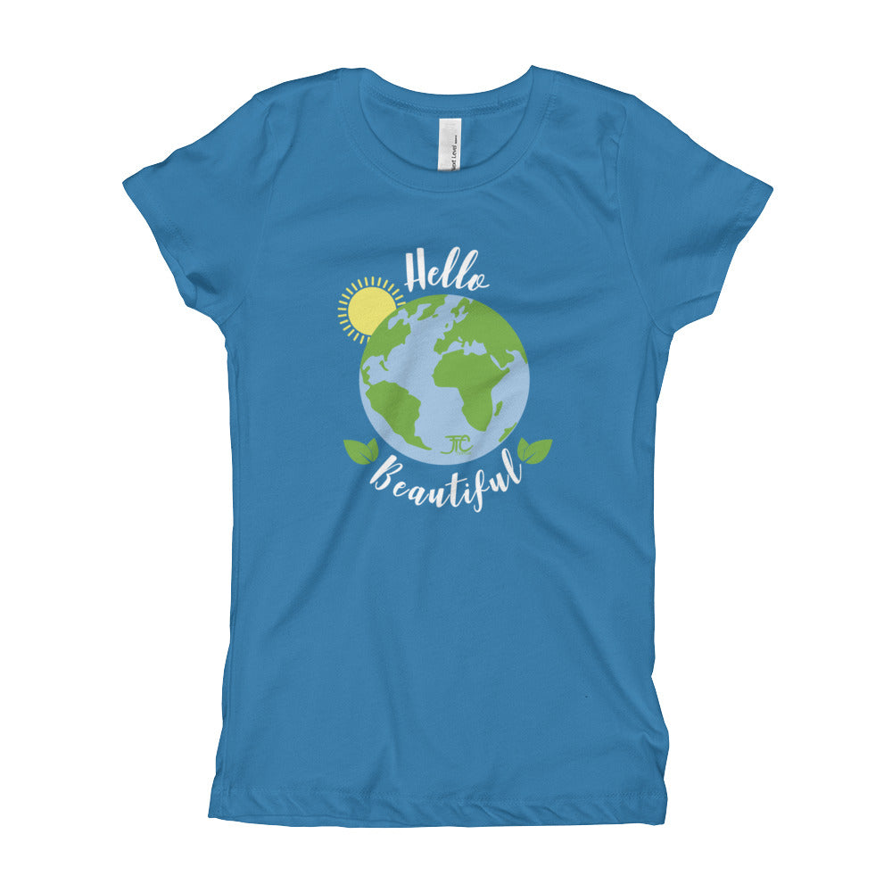 Hello Beautiful - Youth Girl's Tee