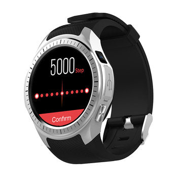 Nathan L1 Smartwatch (Bluetooth) - Silver