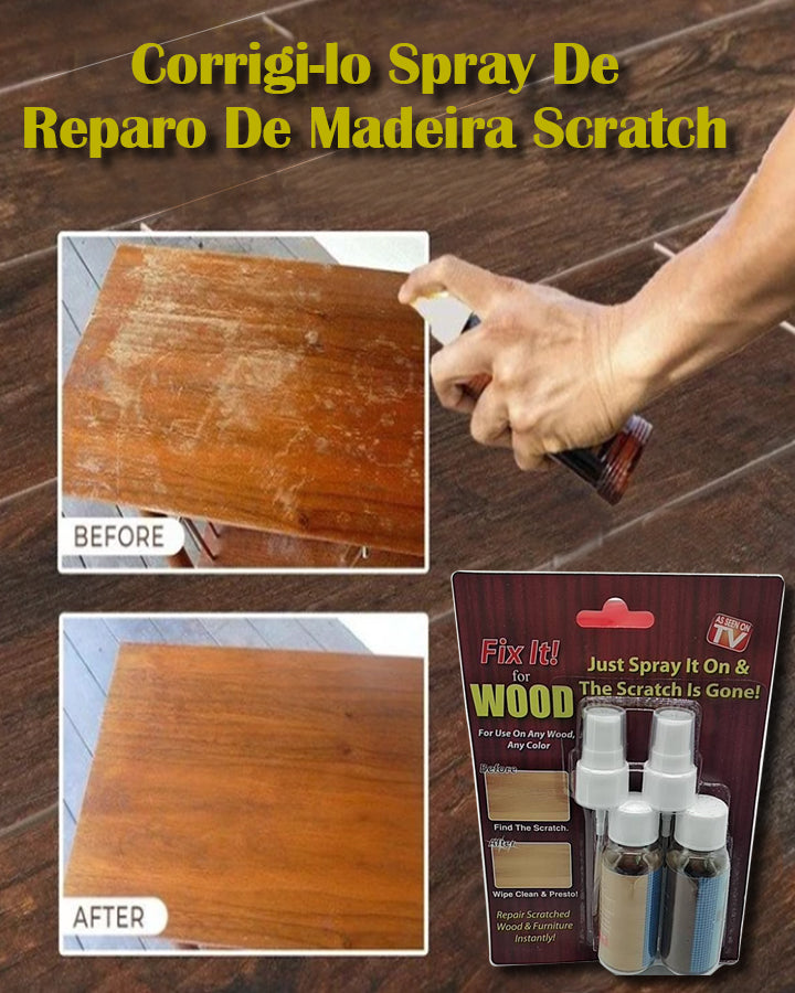 Fix It Spray De Reparo De Madeira Scratch