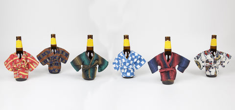 Highway Robery Mini Robes for Beer Bottles