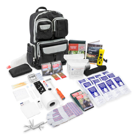 2 Person Urban Survival Bug Out Bag