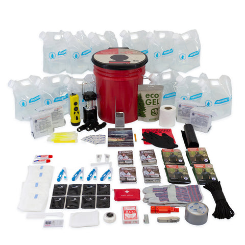 4 Person Complete Hurricane Survival Kit