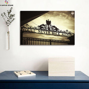 Liverpool club gate canvas wall art