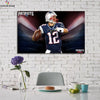 One piece Patriots Great Tom Brady canvas wall art