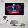 One piece Buffalo Bills Kyle Williams canvas wall art