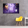 One piece Baltimore Ravens Ray Lewis canvas wall art - Canvas Monsters