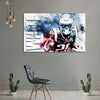 One piece Patriots James White canvas wall art