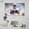 One piece Buffalo Bills LeSean McCoy canvas wall art - Canvas Monsters