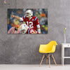 One piece Patriots Tom Brady canvas wall art