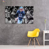 One piece Patriots Shining Tom Brady canvas wall art