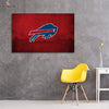 One piece Buffalo Bills Logo in Stadium canvas wall art - Canvas Monsters