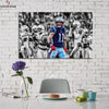 One piece Patriots Julian Edelman canvas wall art