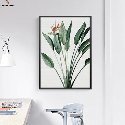 Canvasstand Leaf flower wall decor canvas wall art - Canvas Monsters