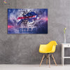 One piece Buffalo Bills Logo on wall canvas wall art - Canvas Monsters