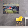 One piece Patriots Stadium canvas wall art - Canvas Monsters
