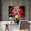 One piece Patriots James Develin canvas wall art