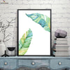 Canvasstand Two Leaves Nordic simple life wall decor canvas wall art