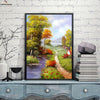 Canvasstand Landscape country road pool wall decor canvas wall art