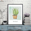 Canvasstand Green plants Nordic simple life wall decor canvas wall art