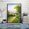 Canvasstand country road house wall decor canvas wall art