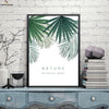 Canvasstand Nature botanical mood wall decor canvas wall art