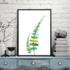 Canvasstand  Nordic simple life two leaves wall decor canvas wall art