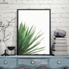 Canvasstand Left side leaves wall decor canvas wall art