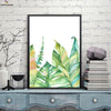 Canvasstand Multiple leaves wall decor canvas wall art