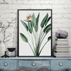 Canvasstand Leaf flower wall decor canvas wall art
