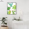 Canvasstand Four cactuses wall decor canvas wall art - Canvas Monsters