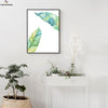 Canvasstand Two Leaves Nordic simple life wall decor canvas wall art - Canvas Monsters