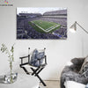 One piece Baltimore Ravens Stadium View canvas wall art - Canvas Monsters