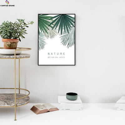 Canvasstand Nature botanical mood wall decor canvas wall art - Canvas Monsters