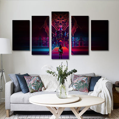 5PCS the legend of zelda canvas prints - Canvas Monsters