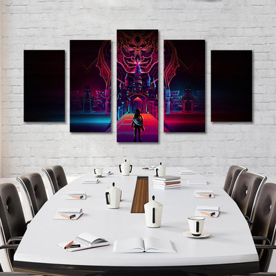 5PCS the legend of zelda canvas prints