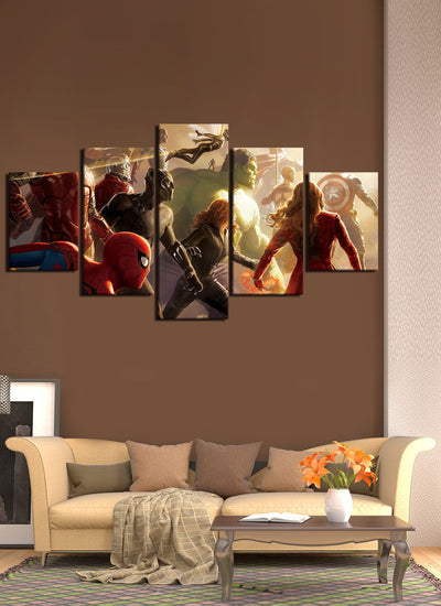 Avengers All Members - Canvas Monsters