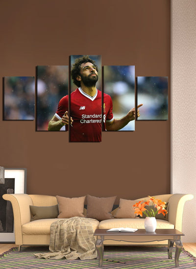 King Salah Canvas Wall Art