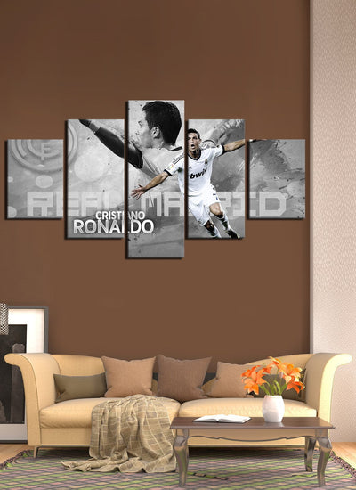 C Ronaldo Celebration - Canvas Monsters