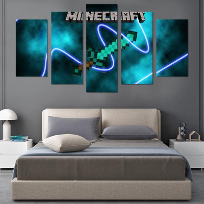 Minecraft Canvas Wall Art - Canvas Monsters