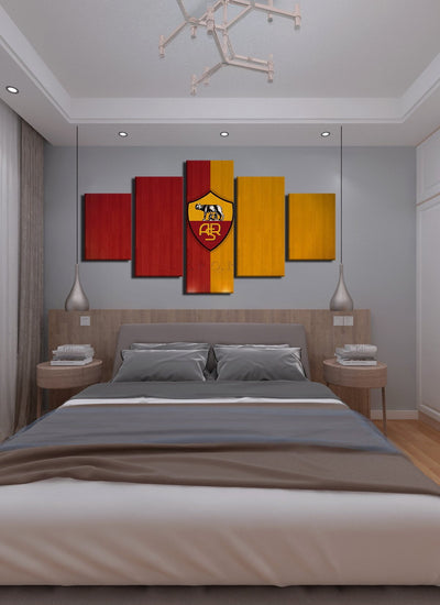 Rome Flag Canvas Wall Art