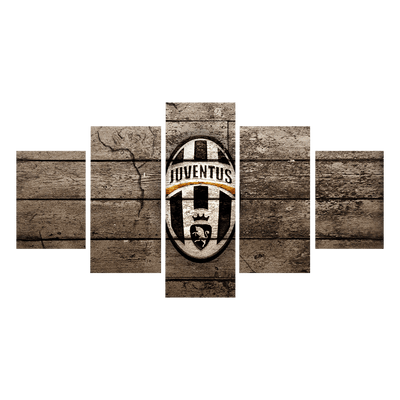 Vintage Juventus Canvas Wall Art