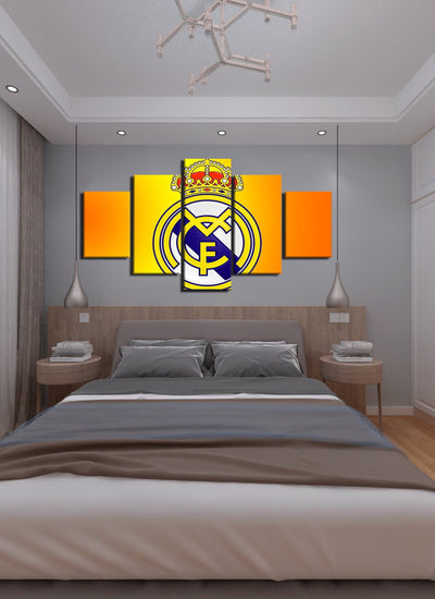 Real Madrid Flag - Canvas Monsters