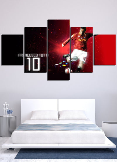 Totti 10 Canvas Wall Art