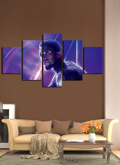 Avengers Black Panther The King Of Wakanda - Canvas Monsters