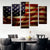 Grunge American Flag Canvas Prints