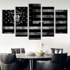 Las Vegas Raiders American flag Canvas Prints - Canvas Monsters