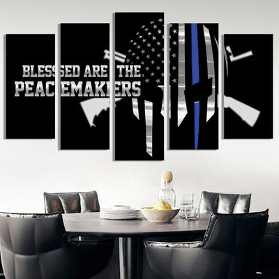 Peacemakers American flag Canvas Prints - Canvas Monsters