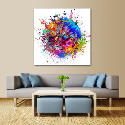 Abstract Colorful Canvas Prints - Canvas Monsters