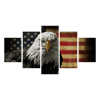 Eagle American Flag Canvas Prints - Canvas Monsters